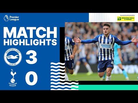Brighton & Hove Albion 3 Tottenham Hotspur 0