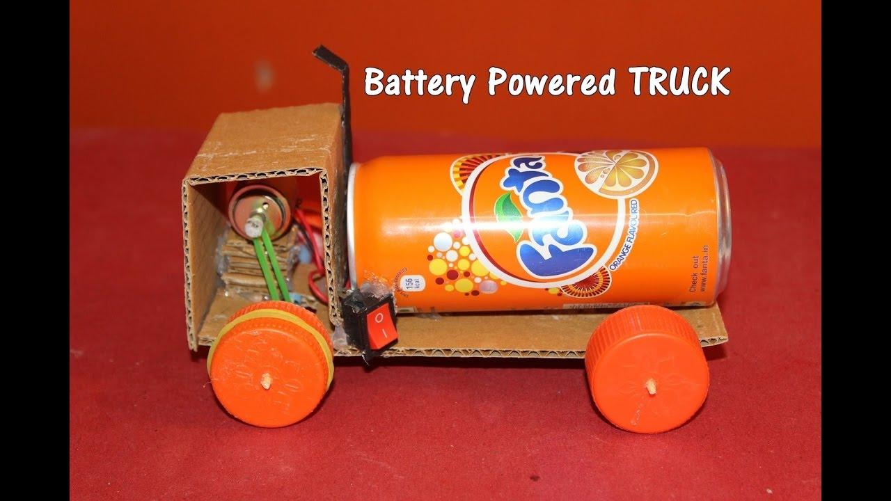 How To Make A Battery Ed Truck Easy