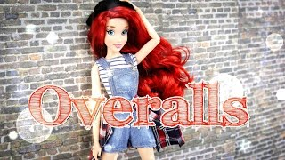 DIY - How to Make:  Doll Overalls - Handmade - Fashion - Doll - Crafts