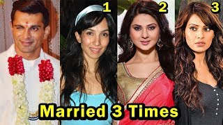 9 Bollywood Celebrities Who Got Married 3 Times or More