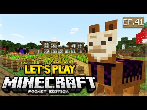 🔴 LIVE NOW!  MCPE 1.1 Let's Play Minecraft Pocket Edition 1.1 - Llama Hunt!! 41 (Pocket Edition)