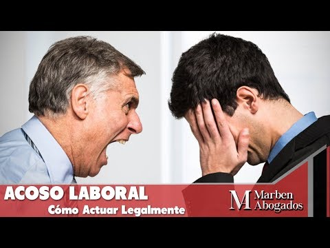 Acoso Laboral - Cómo Actuar Legalmente