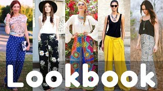 Latest Summer Palazzo Pants Outfit Ideas Lookbook 2018 | Summer 2018 Fashion