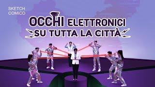 """Video cristiano 2018 - """"Occhi elettronici su tutta la città"""" (Dialogo comico)"""