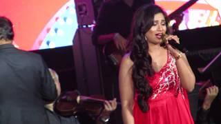 Cover images Teri Meri Shreya Ghoshal Live (Bodyguard)