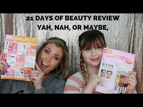 BONUS VIDEO | Ulta 21 days of Beauty Review | Yah, Nah, or Maybe | Hot Mess Momma MD
