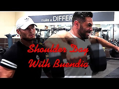 Jeremy Buendia Demolishes Shoulders