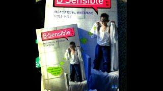 BSensible® 2 in 1 Waterproof Fitted Sheet