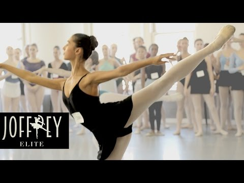 Ballet Auditions Day 1 | JOFFREY ELITE