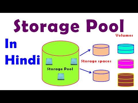What Is Storage Pool ड स क प ल य ह द म