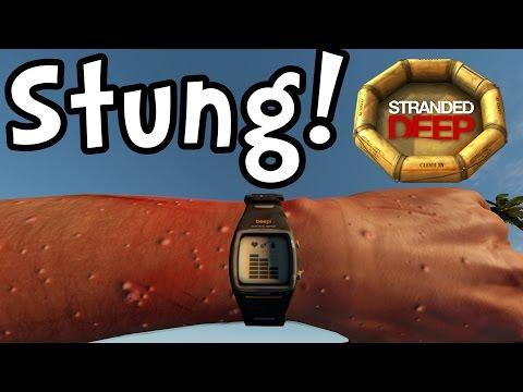 "Stranded Deep E11 ""Stung by Lionfish!"" (Sandbox Survival 1080p60)"