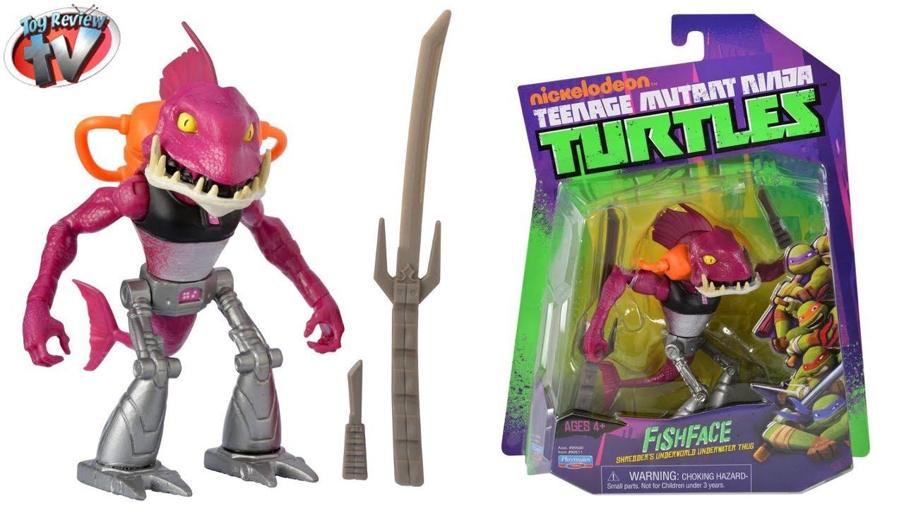 Nickelodeon Teenage Mutant Ninja Turtles Fishface Action ...Ninja Turtles Toys Nick