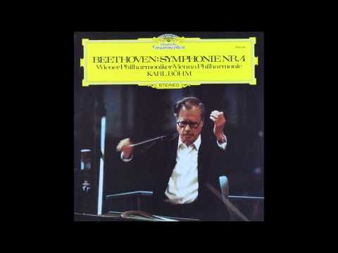 beethoven, Symphony No  4 In B flat Major, Op  60 , 1st mov, Karl Bohm