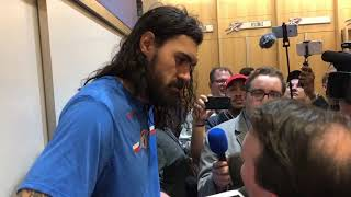 Thunder vs Jazz - Steven Adams