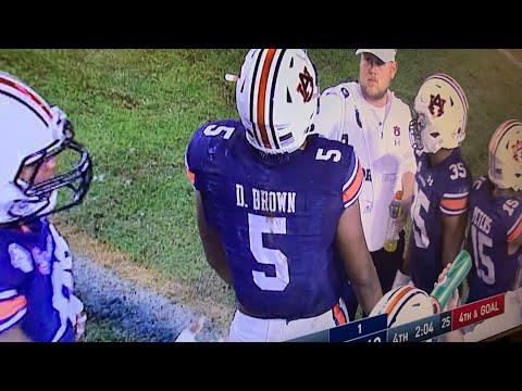Auburn Tigers Beat Alabama Crimson Tide 48-45, Wins 2019 Iron Bowl; Derrick Brown Stars