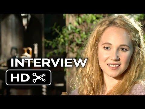 Maleficent Interview - Juno Temple (2014) - Disney Fantasy Movie HD