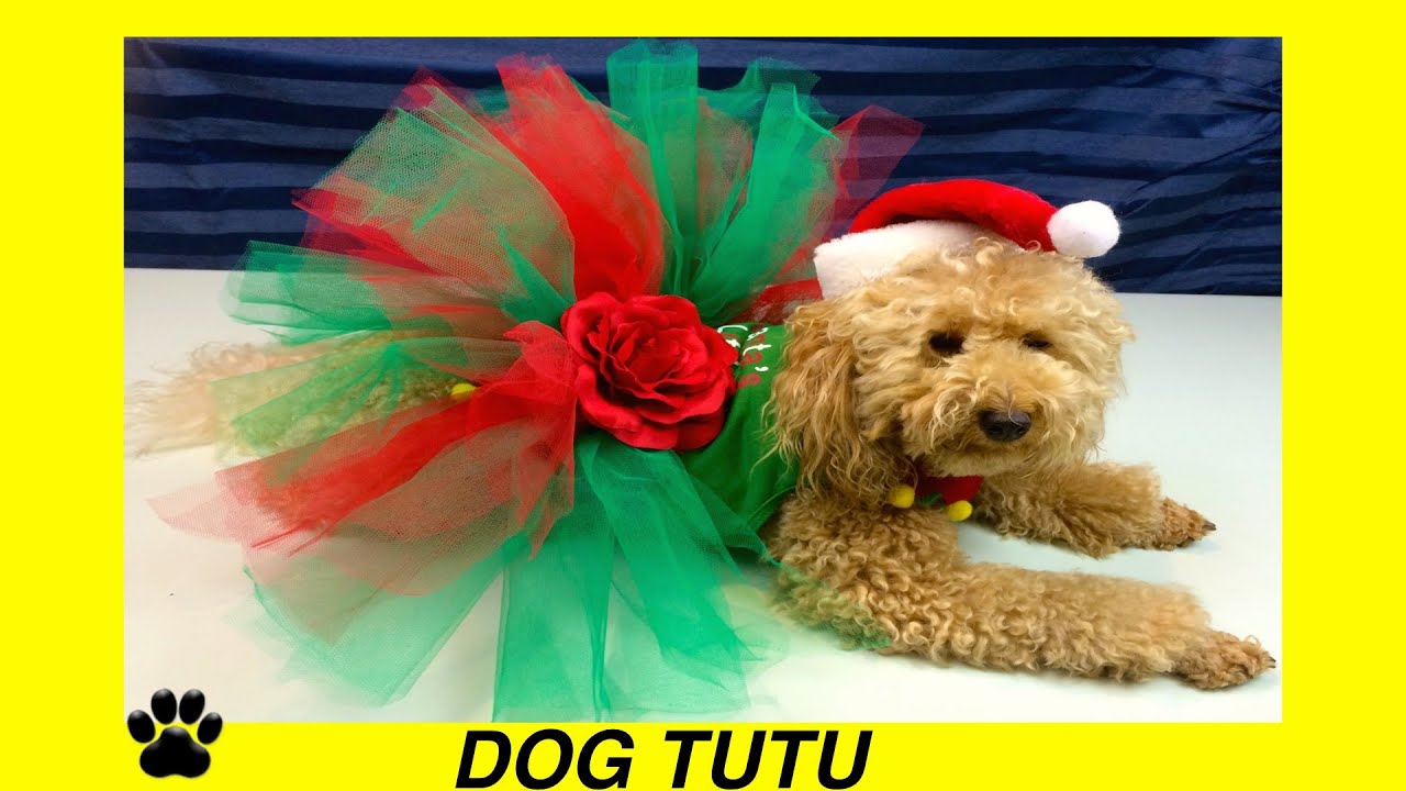 How To Make Christmas Dog Tutu