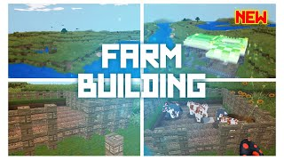 AMAZING NEW VIDEO Farm Building REALMCRARFT Game with skin Export to Minecraft