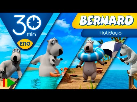Bernard Bear | Summer Adventures | 30 minutes