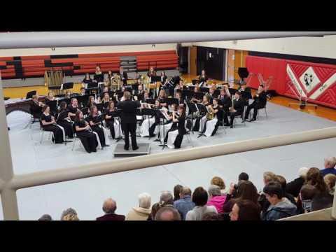 Upper sandusky high school band and choir concert