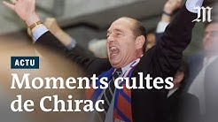 Jacques Chirac : ses petites phrases et moments cultes