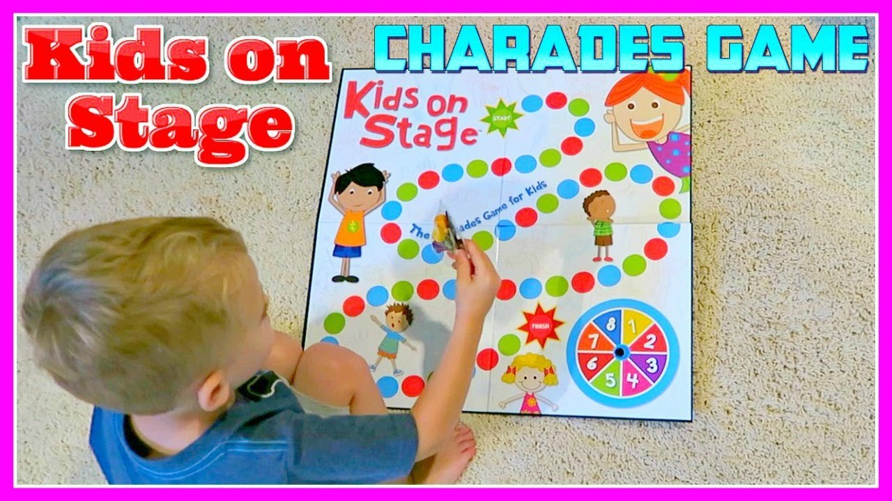 KIDS ON STAGE Charades Board Game For Kids