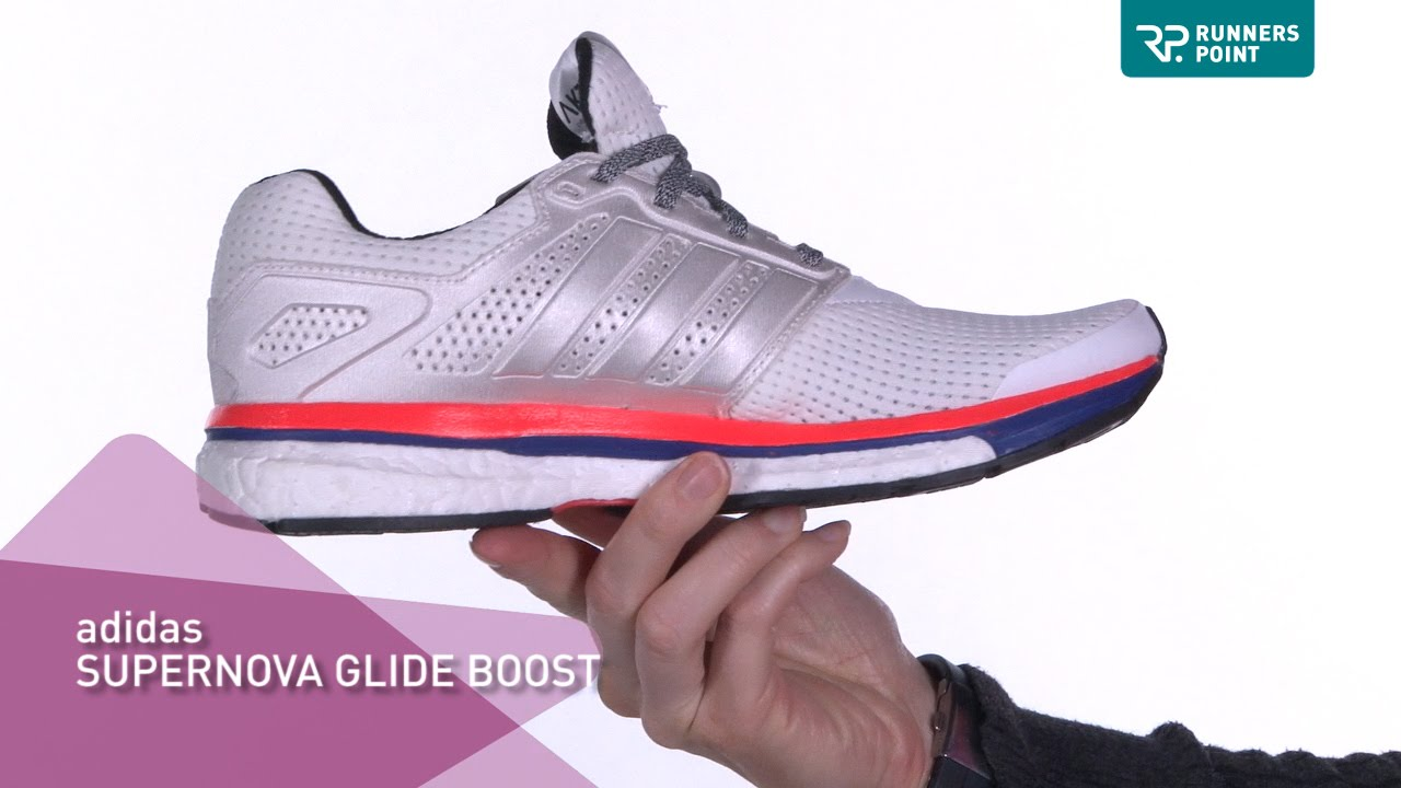 adidas, Supernova Glide Boost, Damenlaufschuhe, grünschwarz