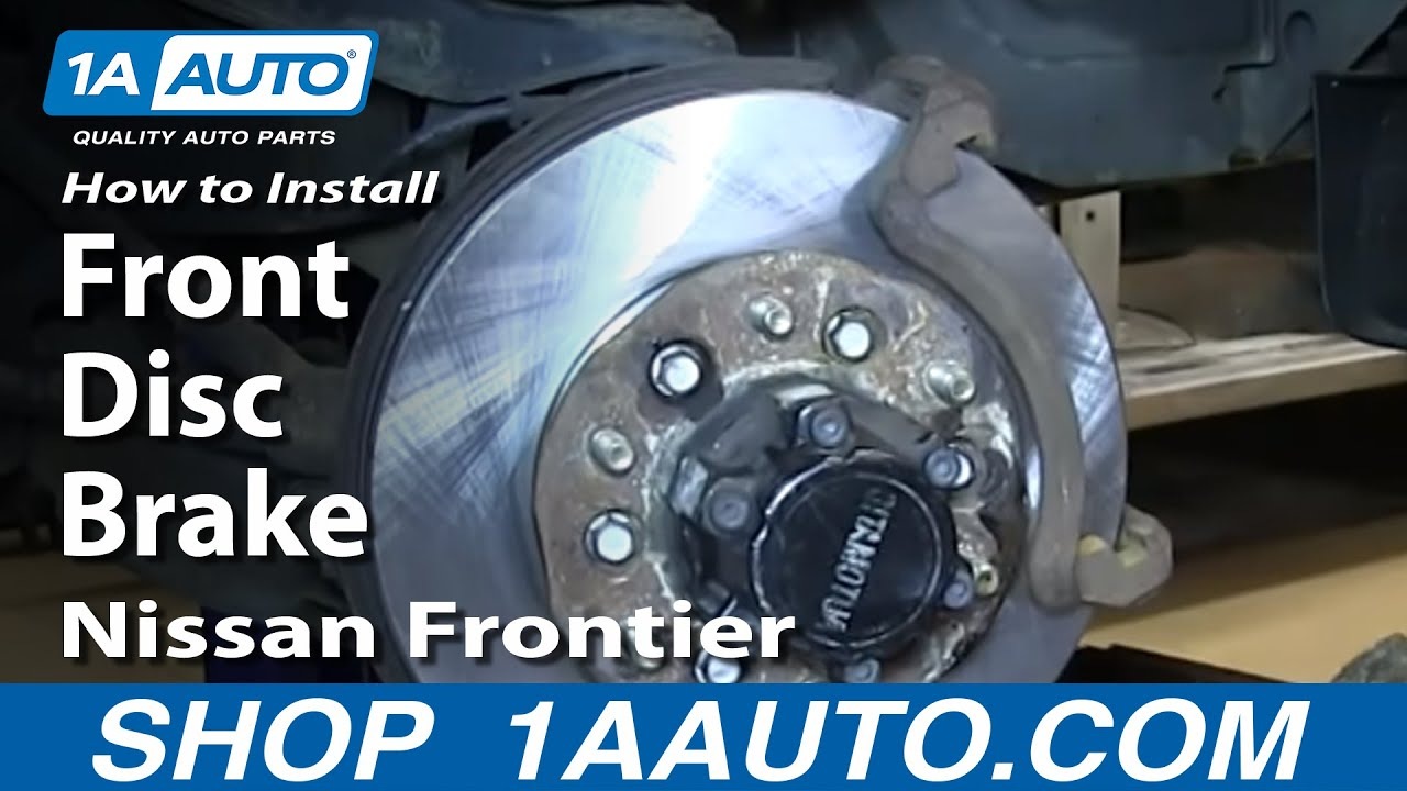 How To Install Replace Do a Front Disc Brake Job 2003-04 ...