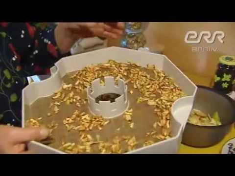 toiduainete kuivatamine