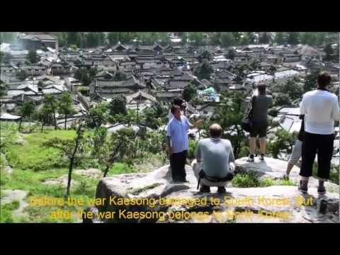 North Korea - Grand view of Kaesong City (DPRK)
