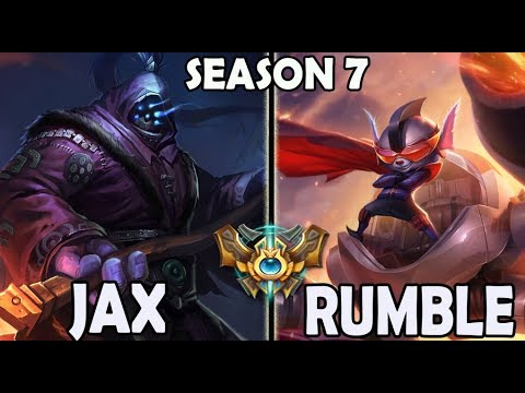 Marin plays Jax vs Rumble TOP Ranked Challenger Korea