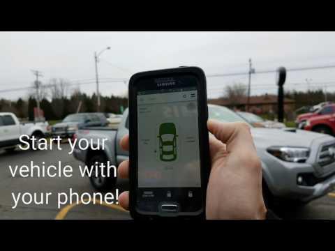 Toyota tacoma phone app
