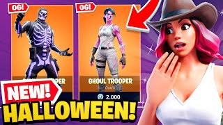 *NEW* HALLOWEEN UPDATE coming to Fortnite! (OG Skins, Zombies + MORE)