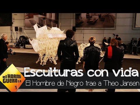 Esculturas con tubos de cable con vida propia - El Hormiguero 3.0