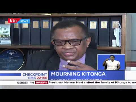 Leaders in the legal profession condole with the family of the late Nzamba Kitonga