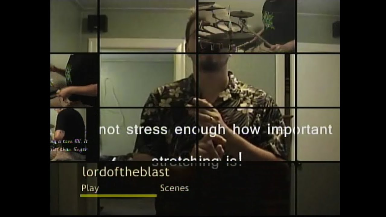 """""""Lord Of The Blast"""" (2007) Extreme Metal Drumming Instructional Video  - TRAILER"""