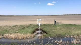 North Dakota Farm Drain tile