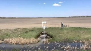 North Dakota Farm Drain tile