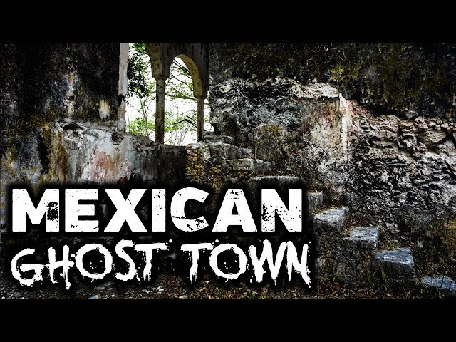 GHOST TOWN in Mexico | Misnebalam, Mexico | Amy's Crypt