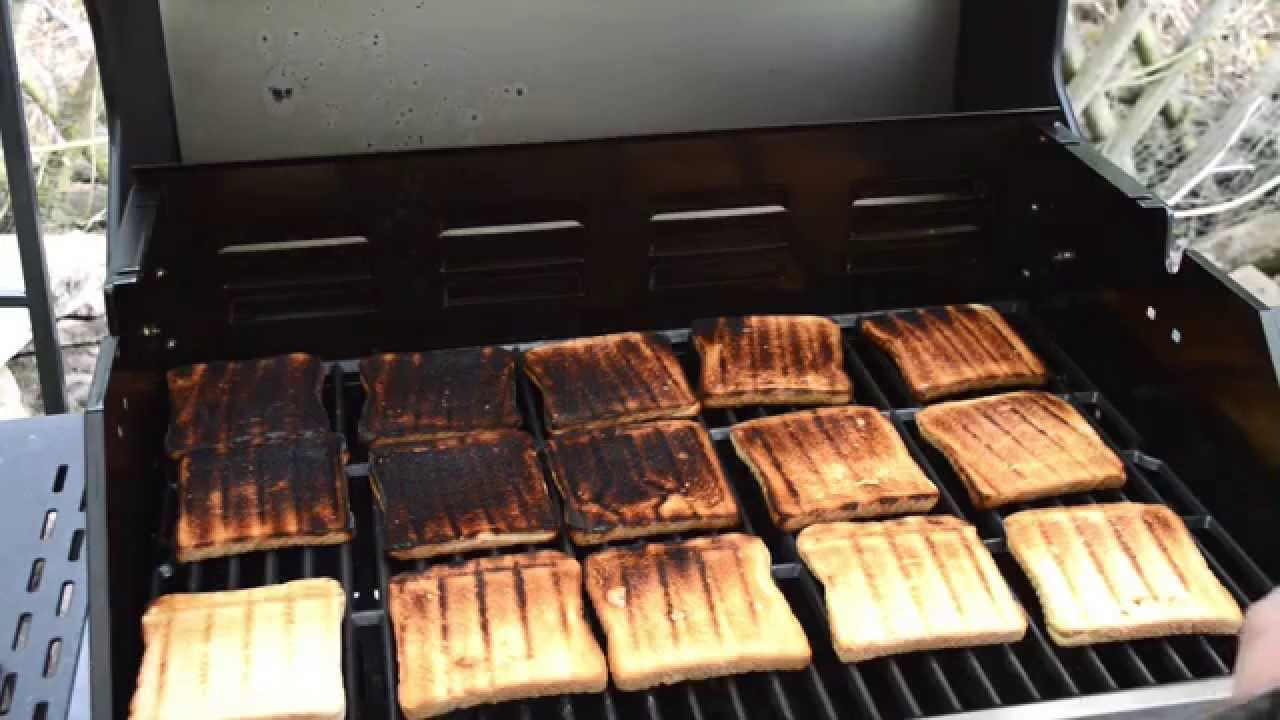 Landmann Gasgrill New Avalon : Toastbrot test landmann triton gasbrennertest youtube