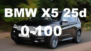 2016 BMW X5 25d F15 0-100 Acceleration