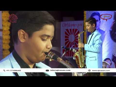 Master Harsh Bhavsar | Saxophone Player | Vasantotsav 2018 | Ajvasan