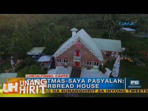 Unang Hirit: Christmas-sayang pasyalang gingerbread house, bibisitahin!