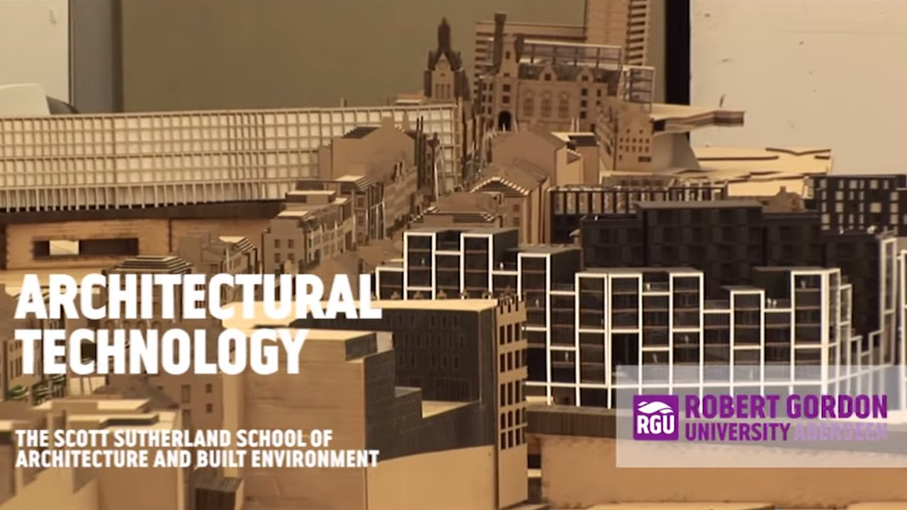 bsc architectural technology - youtube