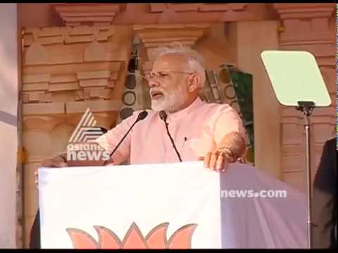 Narendra Modi on Sabarimala issues