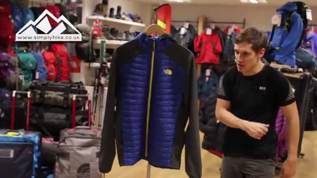 The North Face Thermoball Hybrid Jacket Snorkel Blue Wwwsimplyhikecouk