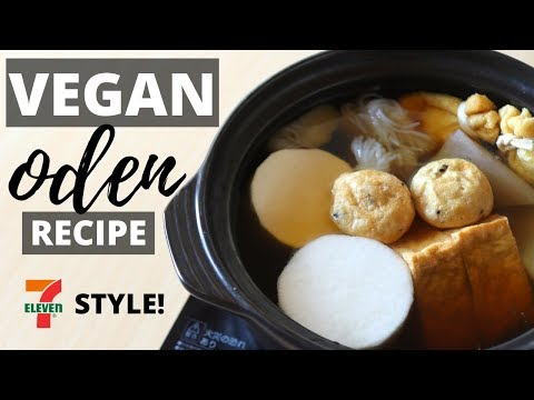 how-to-make-7-11-vegan-oden-recipe-and-mukbang!-(7−11風ヴィーガンおでんのレシピ)