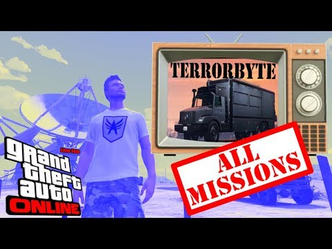 [MUTED BY ERROR :S] Terrorbyte All Missions (See Index) - GTA 5 Online | Game Vlog #26