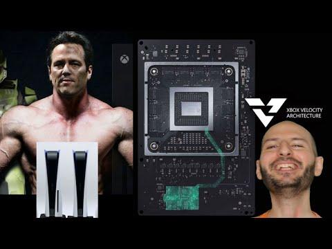 ¡XBOX SERIES X SE LIMPIA LA ANACONDA CON EL SSD DE PS5, XBOX SERÁ MÁS RÁPIDA! - Sasel - velocity