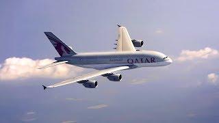 تختفي جميع الحدود ويبقى الأفق الخطوط الجوية القطرية